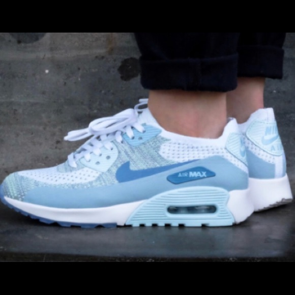 Nike Air Max 90 Essential White Armory Blue Trainers